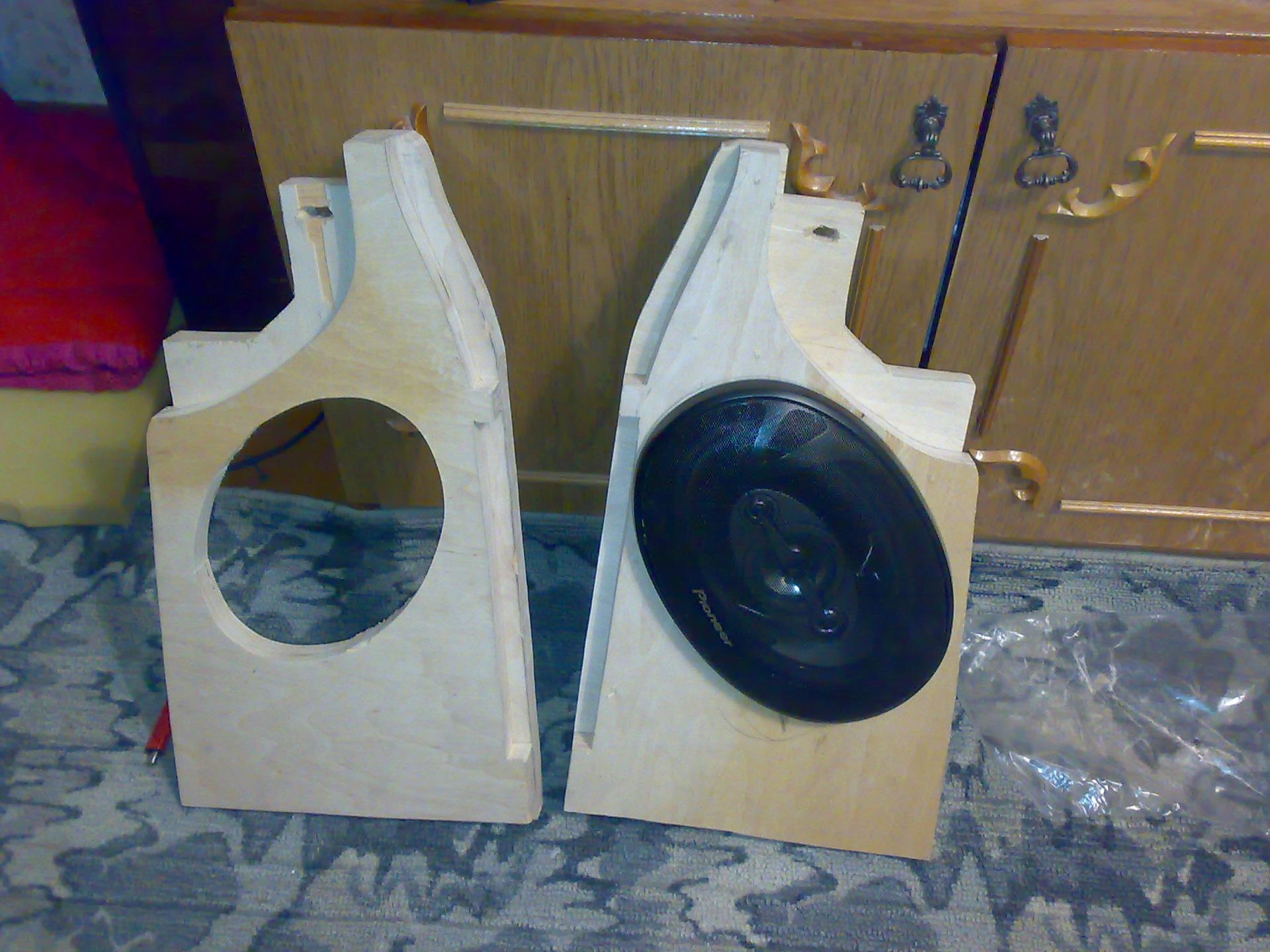 Как сделать акустическая полка на приору