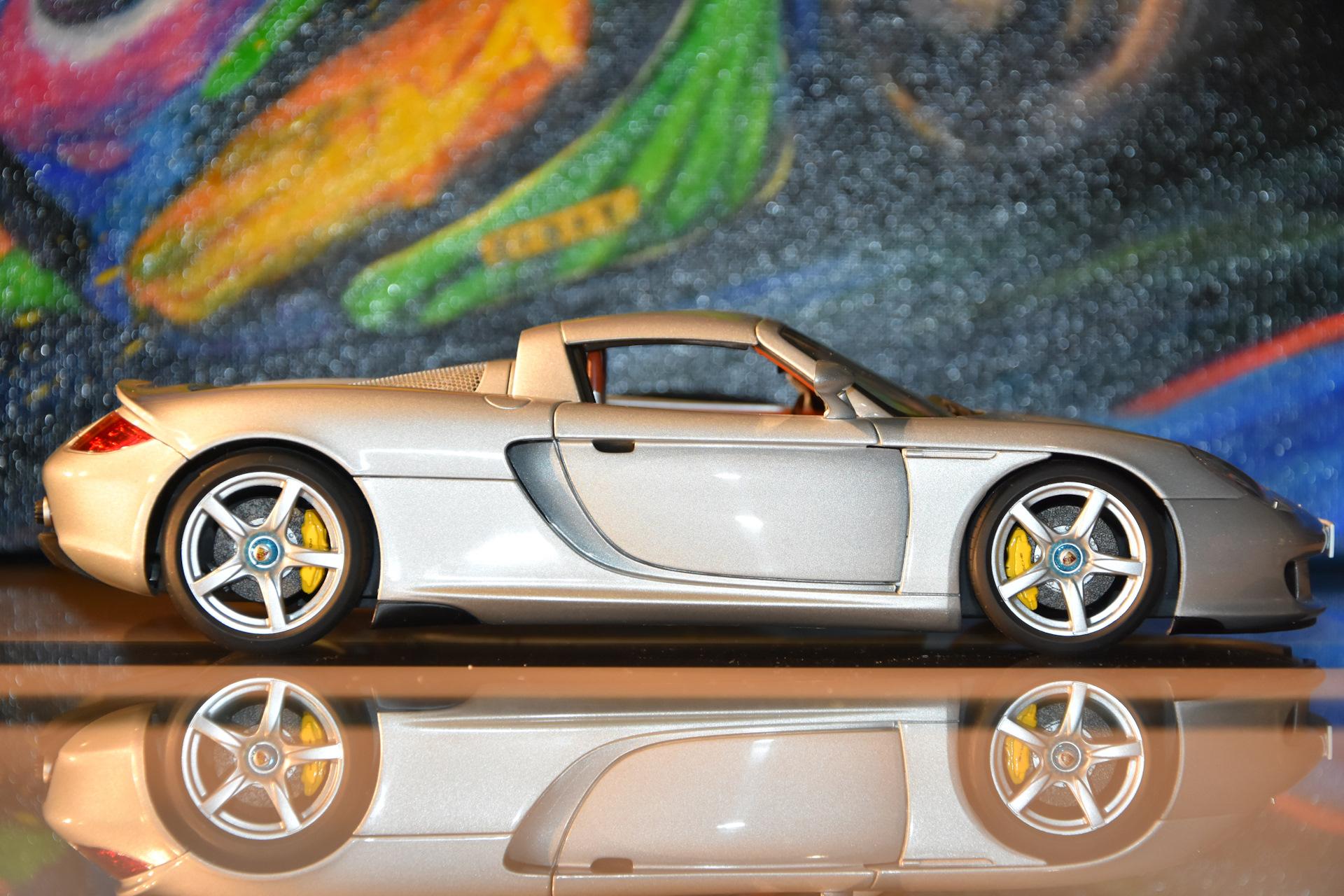 porsche carrera gt масштабная модель autoart