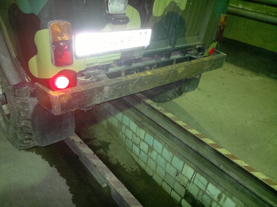Изготовление заднего бампера для уаз