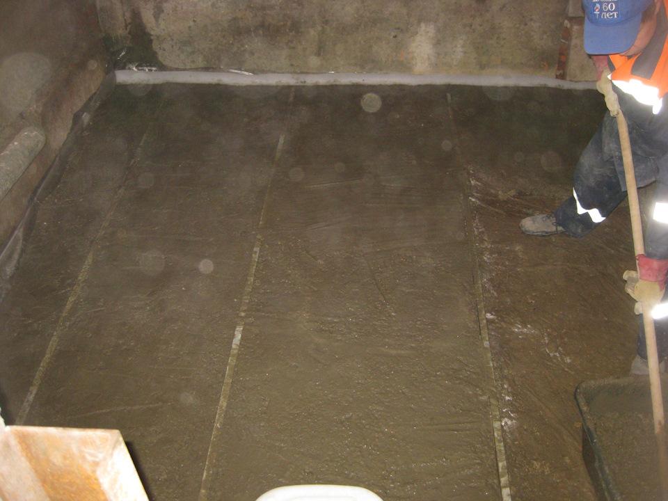 заливка полана цокольном этаже коллектор: описание устройства