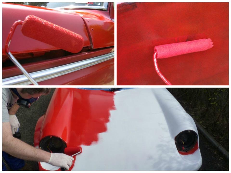 Как красить автомобиль смотреть