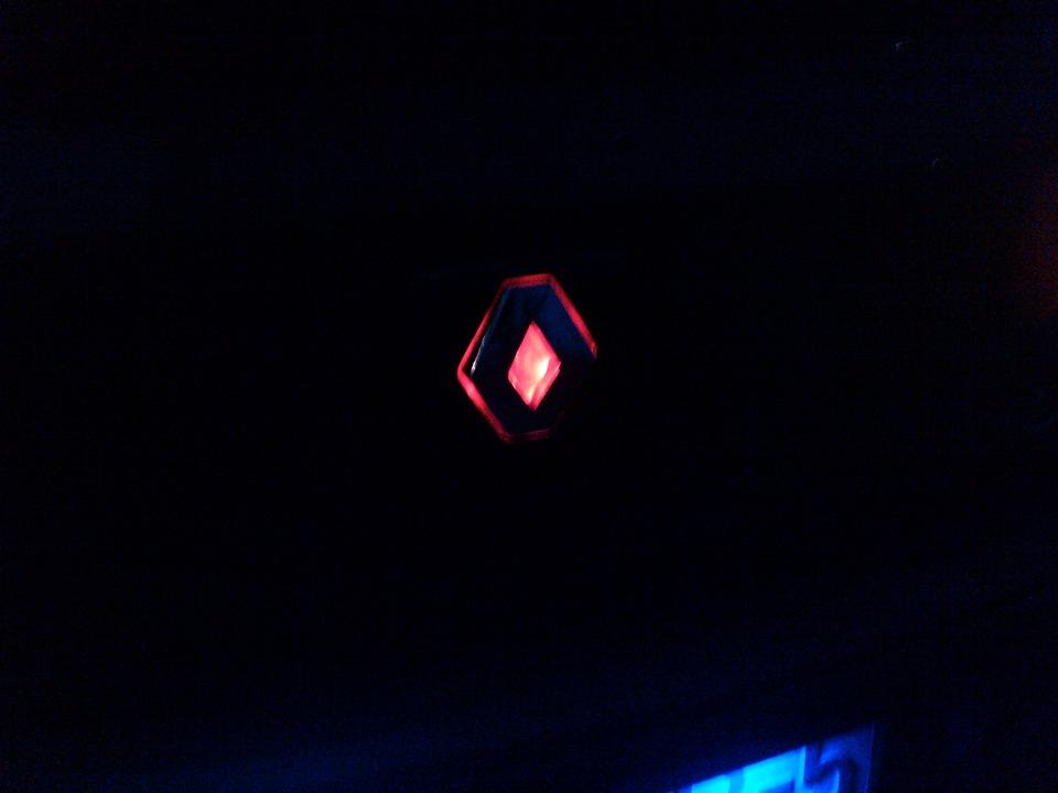 светящийся значок: