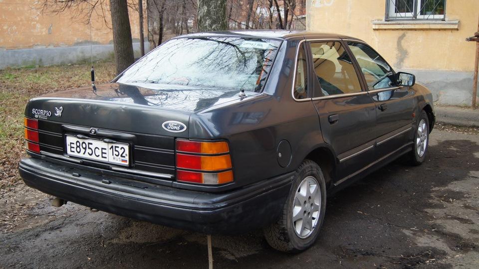 уплотнители дверей ford scorpio 1985-94