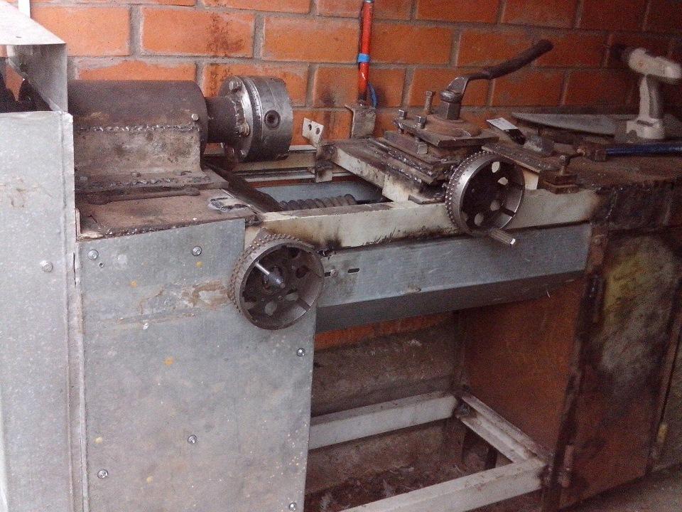 Токарный станок по металлу для гаража россия