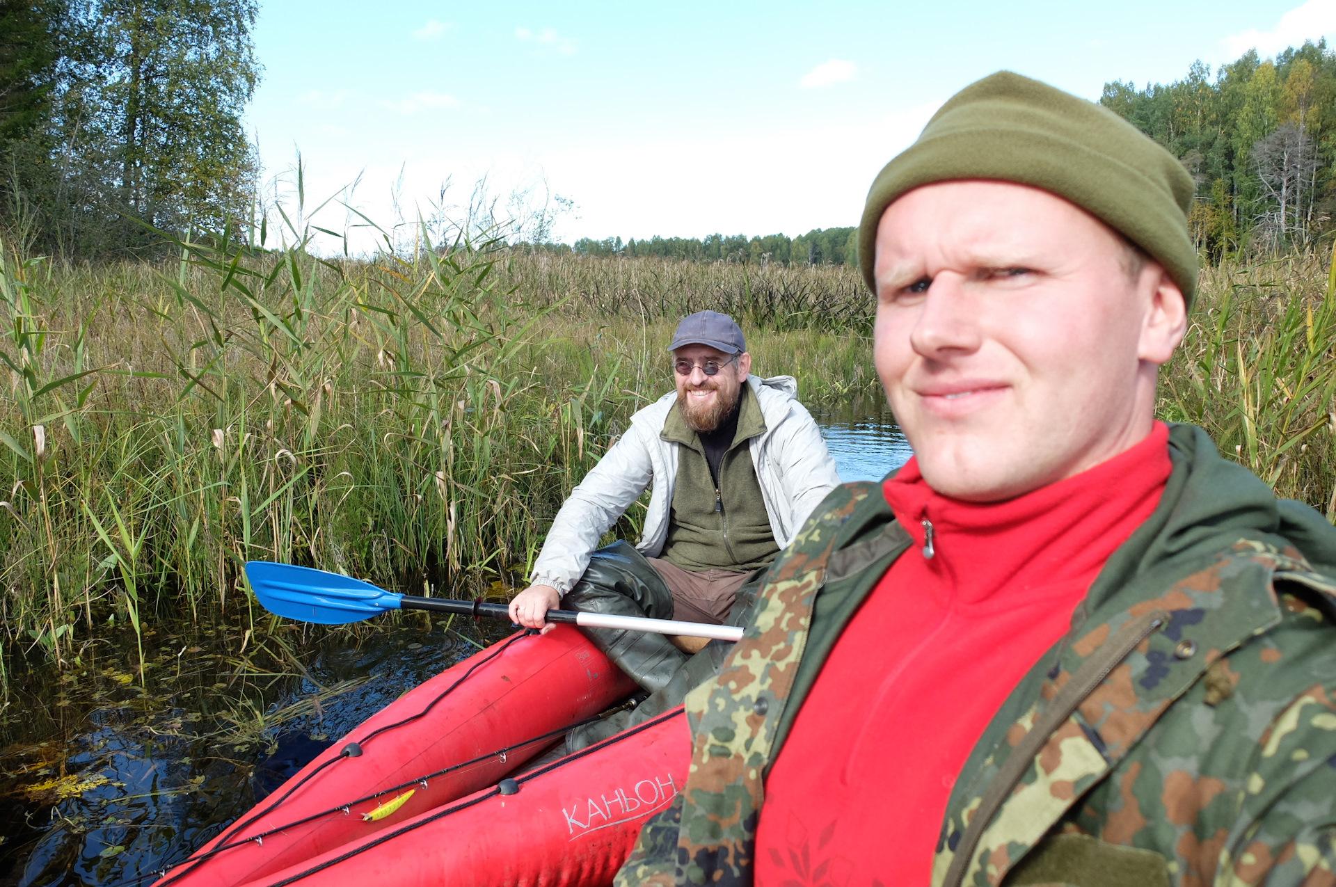 Рыбалка озеро Долгое в Московской области