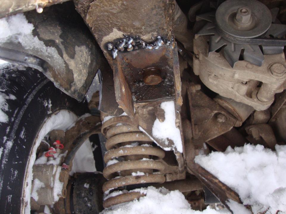 Замена переднего амортизатора форд фокус 3 своими руками 84