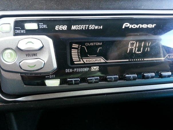 Pioneer deh-p3500mp инструкция