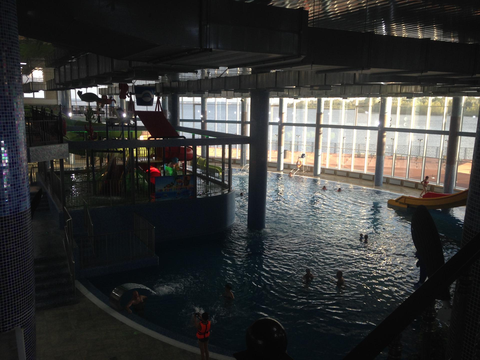 фото аквапарка в сызрани кататься