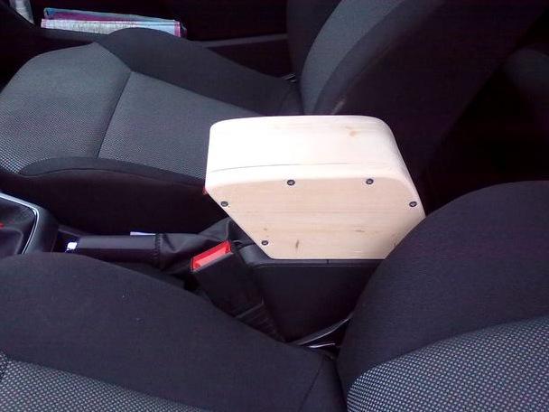 Подлокотника в автомобиль своими руками