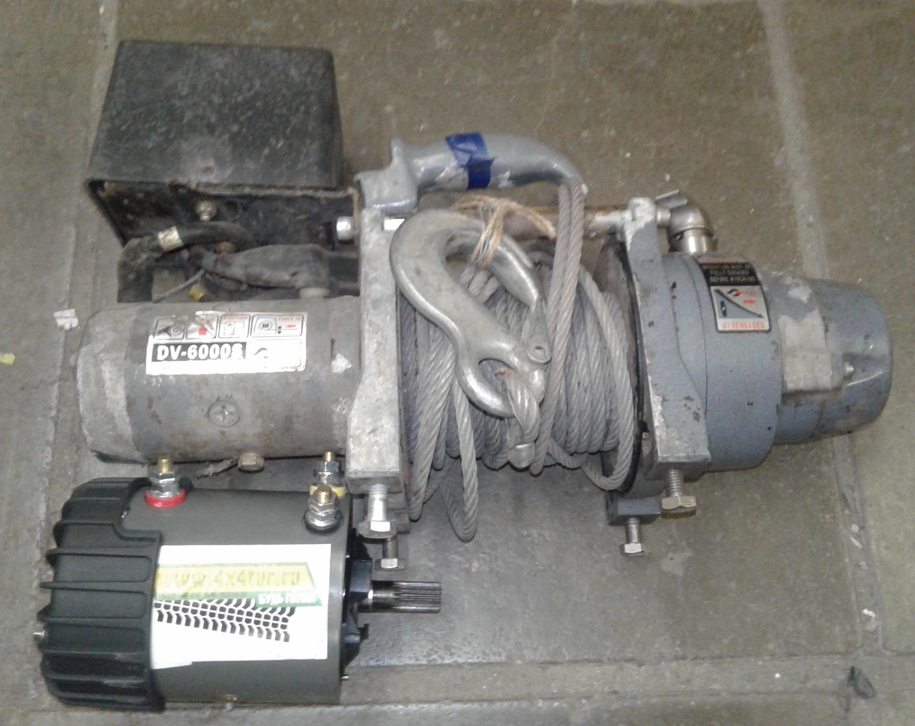 Полноценный мотор на CU DV 6.0