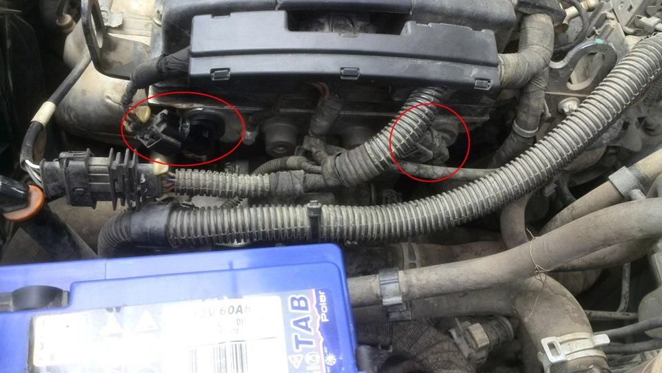 Датчик положения распределительного вала… — Opel Astra, 1 8