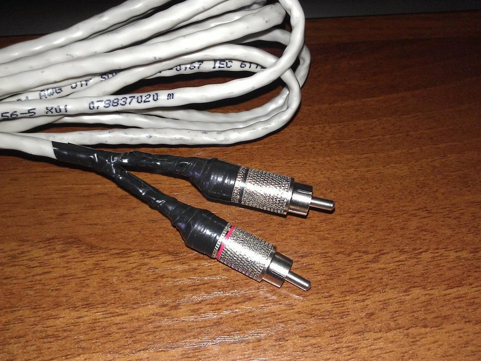 Межблочный кабель из витой пары своими руками