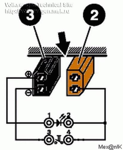 Схема прибора с диодом