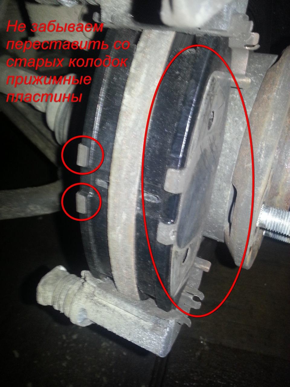 Передние тормозные колодки на рено дастер 2 литра цена