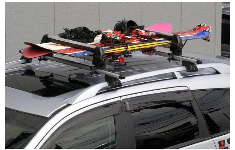 Перевозка лыж на крыше авто своими руками 15