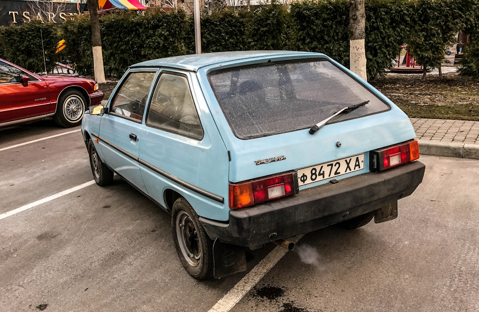 На удивление, автомобиль отлично запустился после почти 6-месячной стоянки на паркинге