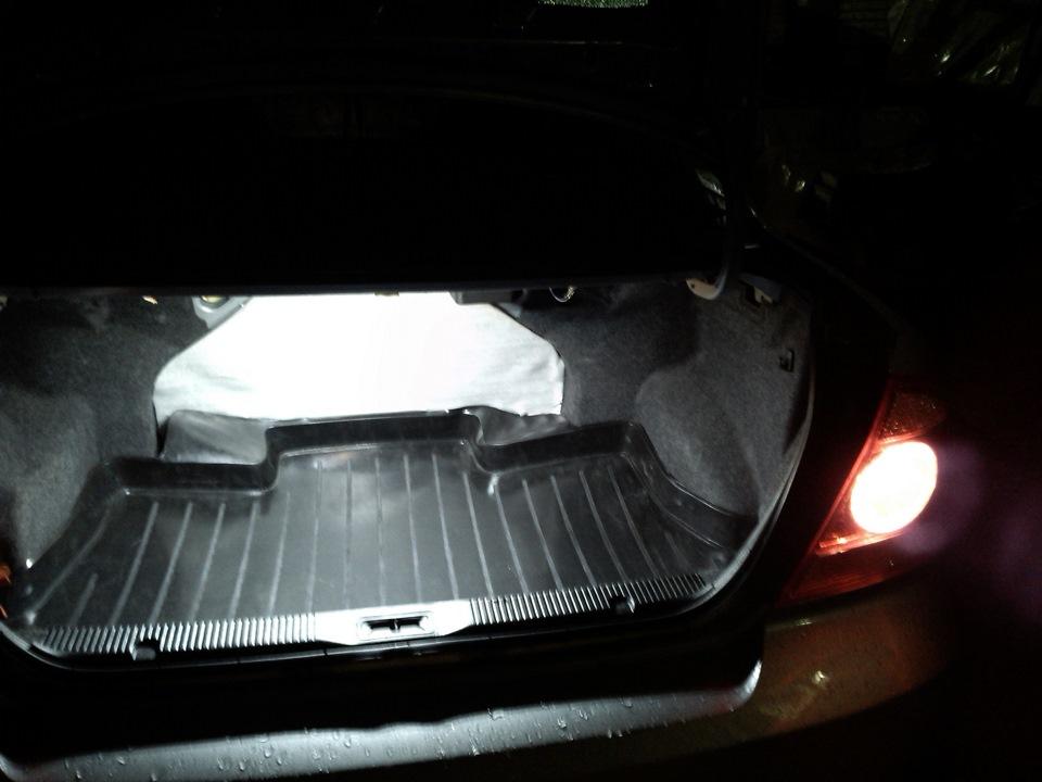 Свет в багажнике ниссан альмера классик