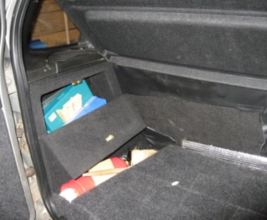 Органайзер в багажник на шевроле ниву своими руками