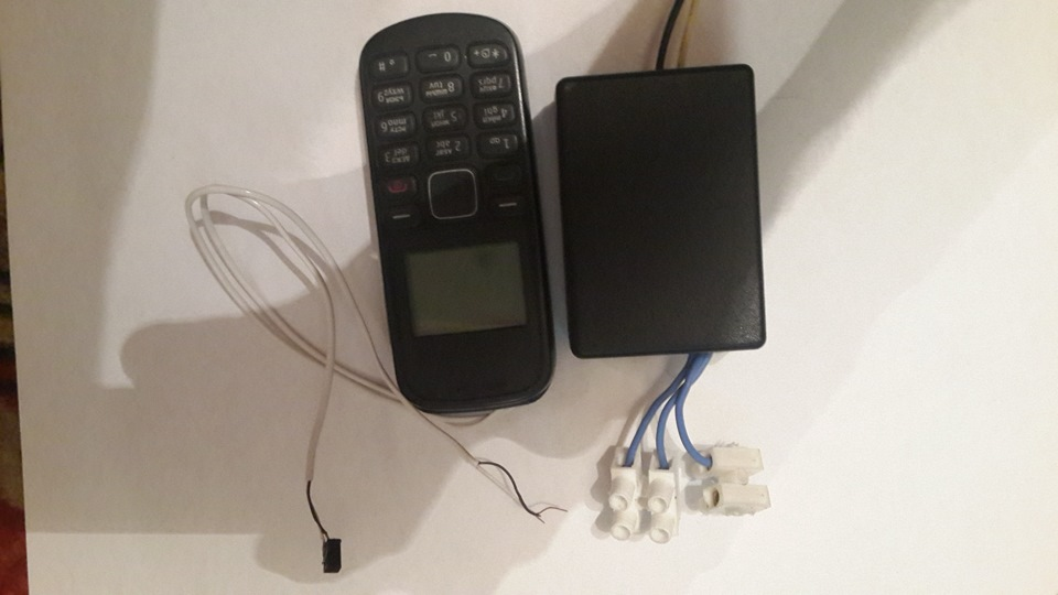 Самодельная GSM сигнализация с