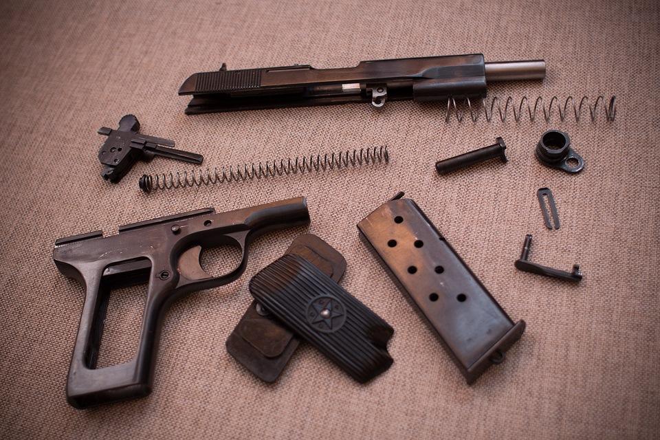 Разборка пистолета токарева