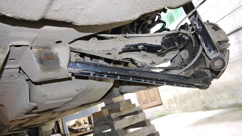 Задняя подвеска Rover 75