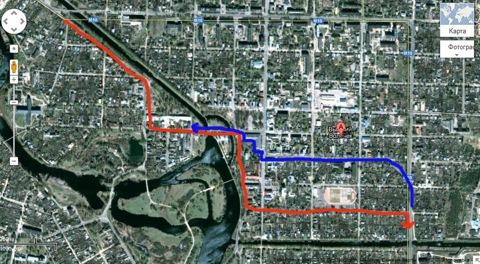 По просьбе друзей, собирающихся на майские по маршруту Москва-СПб, нарисовала схему объезда светофора в Вышнем...