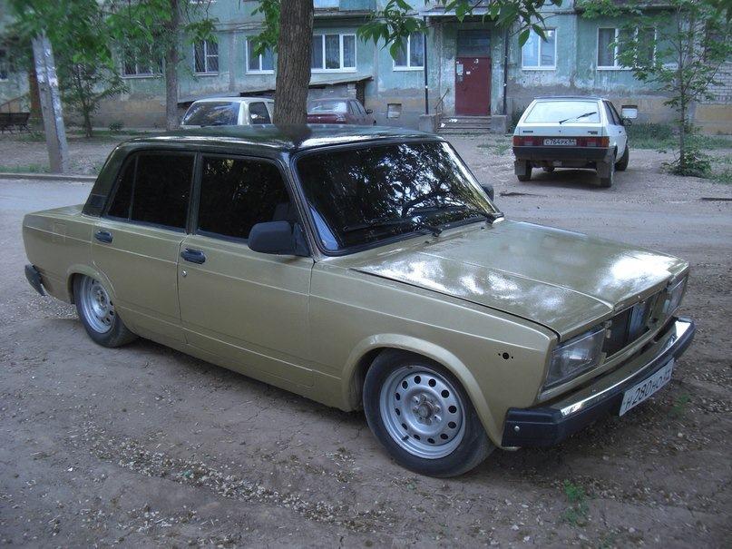 2010 lada (ВАЗ) 2107, чёрный, object Object рублей - вид
