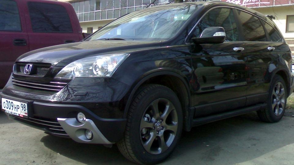 Honda cr v 2008 фото