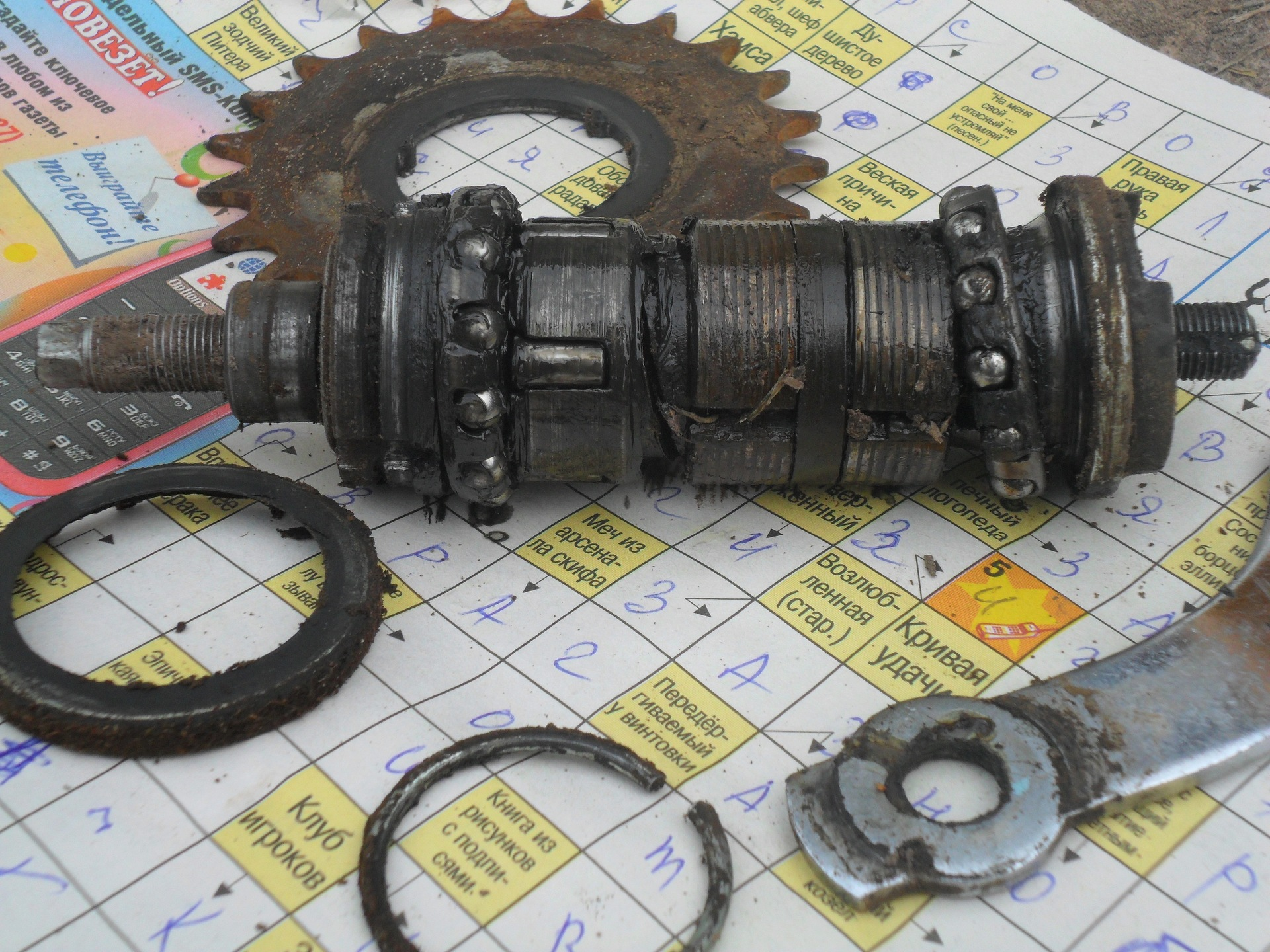 ремонт переднего колеса велосипеда относится