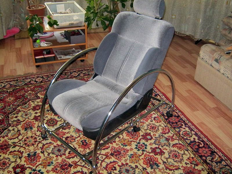 Как своими руками сделать офисное кресло в 923