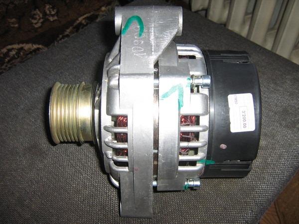 Фото №7 - генератор от ВАЗ 2110 на ВАЗ 2107