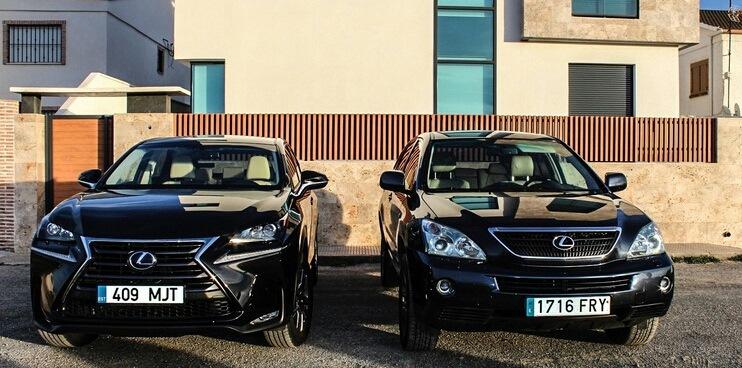 Lexus rx 350 vs nx200t