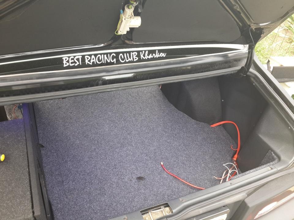Багажник ваз 21099 своими руками 32