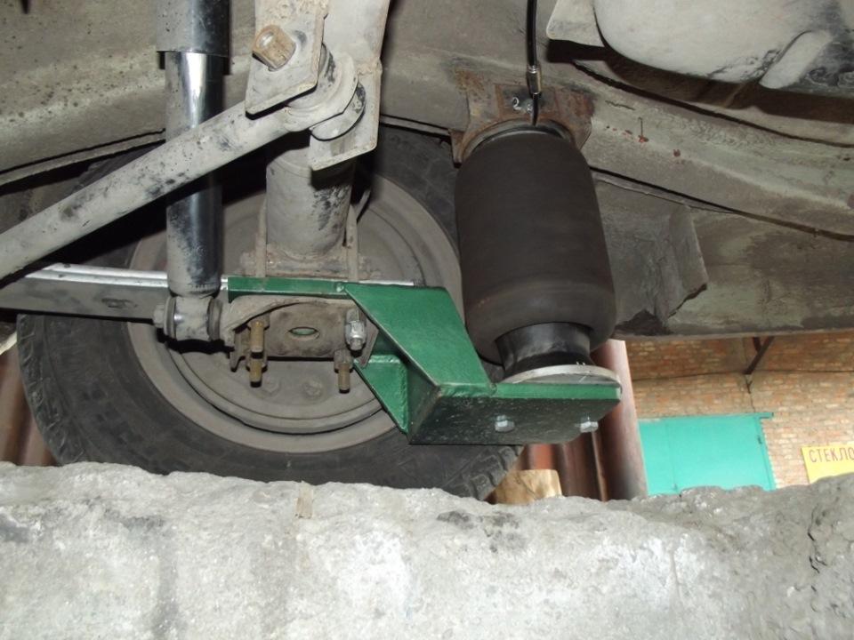 Пневмоподвеска газ 24