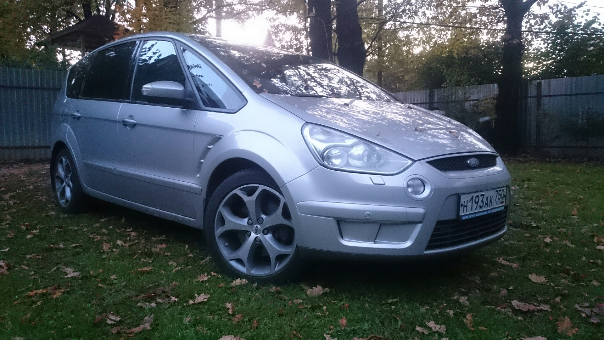 ford s-max (2007) расход
