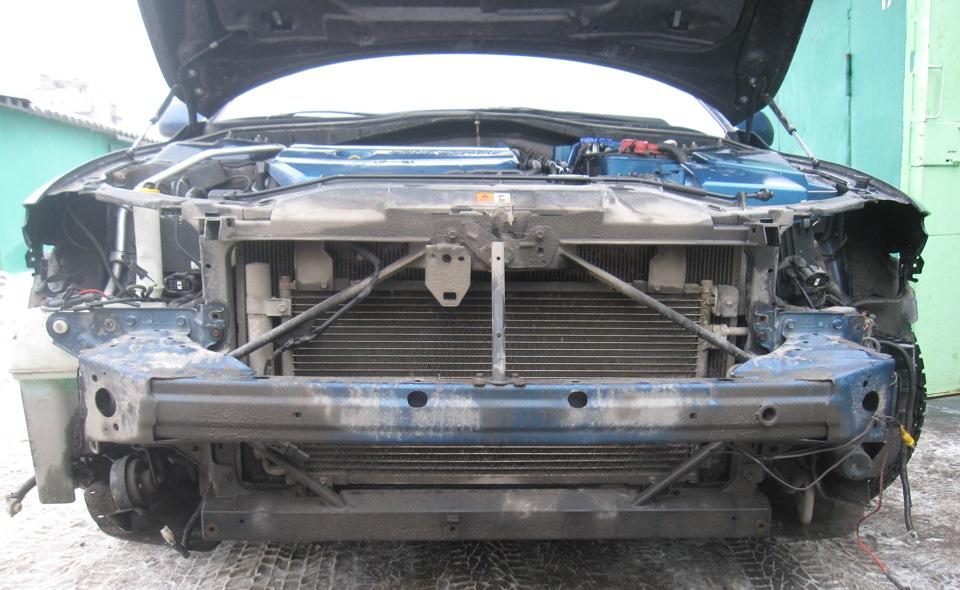 Замена радиатора mazda 6 gg Замена масла в двигателе киа рио 3