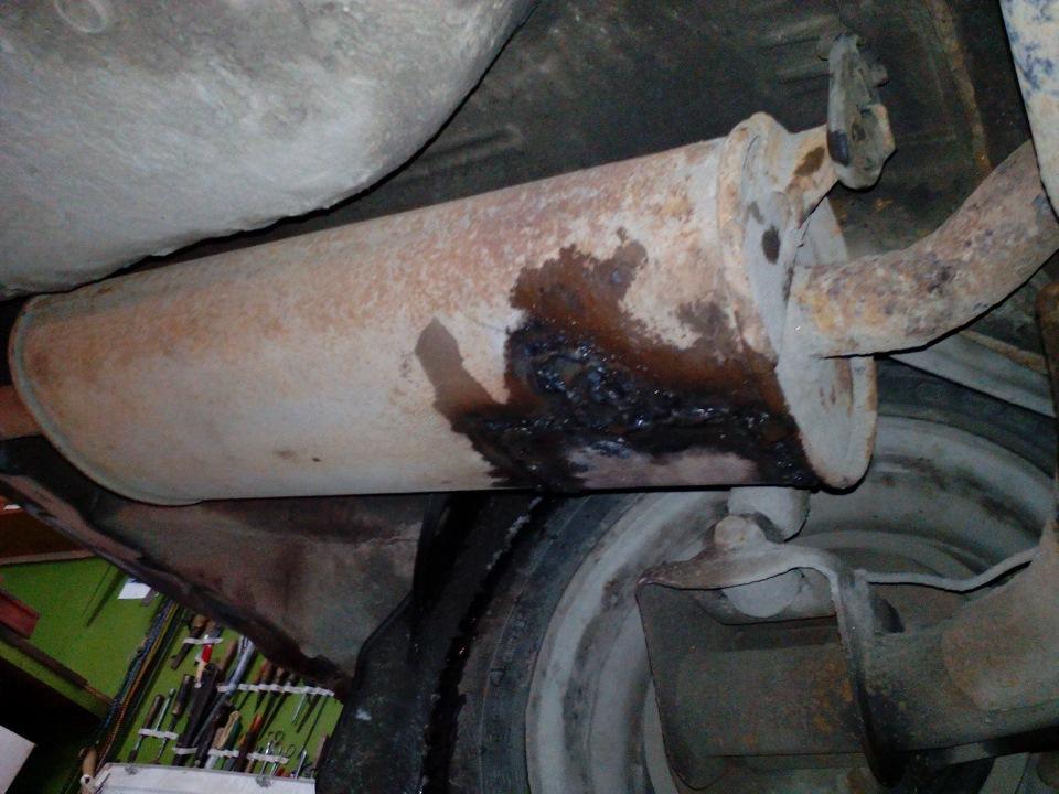 Прогорел глушитель, самостоятельный ремонт. - logbook Lada 2112 Амулет DRIVE2