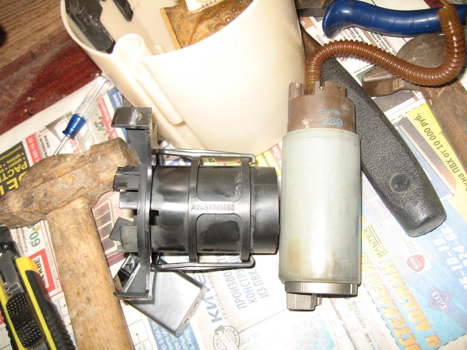 как промыть фильтр бензонасоса ford s-max
