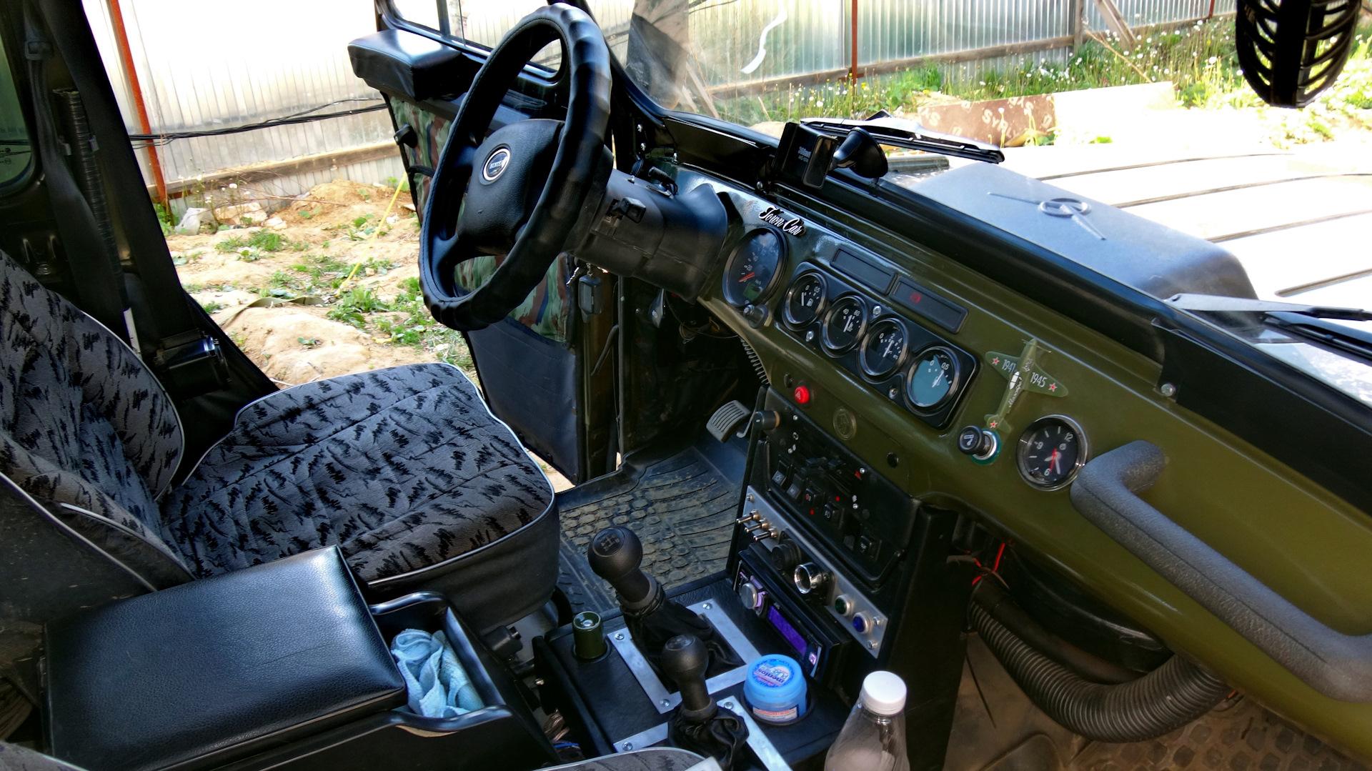 Блог пользователя Roman1232 на DRIVE 2. тюнинг салона в класическом уазе