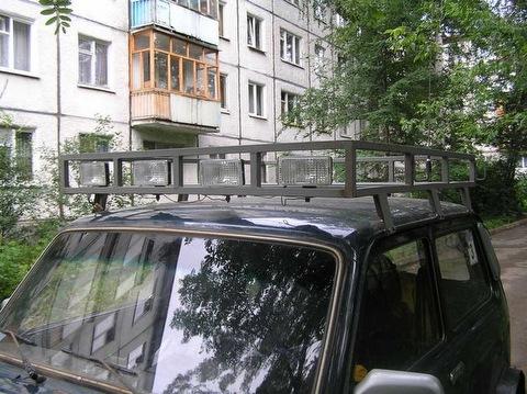 Offroad club Izhevsk - p7110464 Экспедиционный багажник Мастерская Фотогалерея...