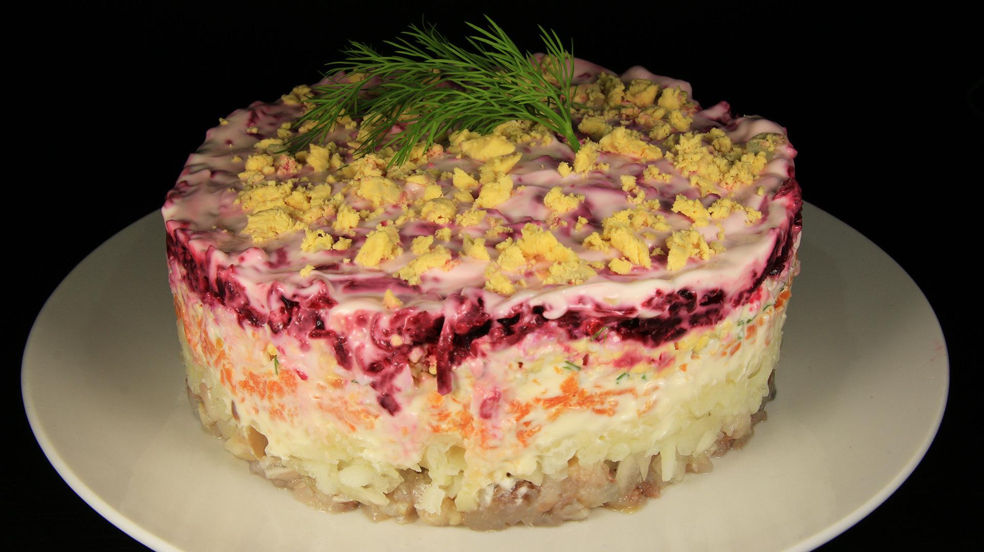 новом салат шуба рецепты с фото под кожей может