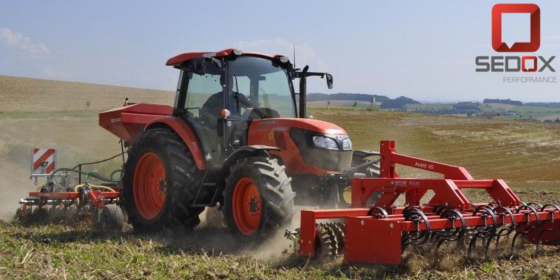 Tractor Kubota M9960 DPF 105hp 2015 — Sedox Performance
