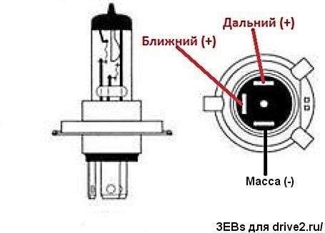 H Headlight Bulb H Wiring Diagram Schematic Diagram And - H4 bulb wiring diagram
