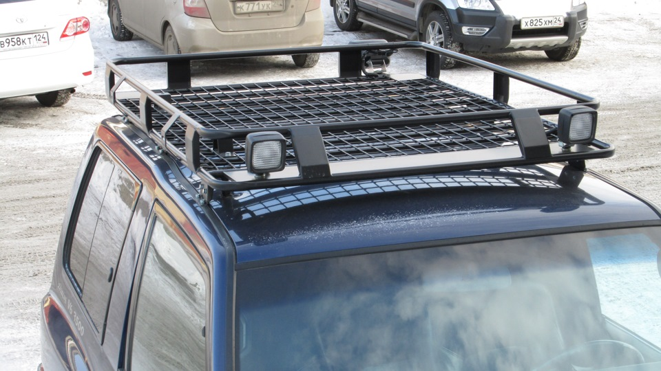 Багажник на крышу джипа своими руками на паджеро 2
