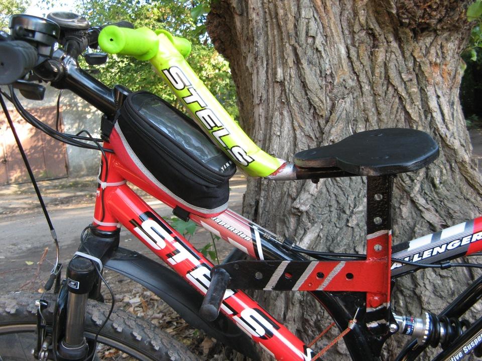 Как сделать сиденье на детский велосипед 149