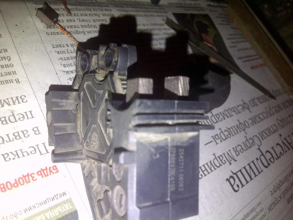 Логан ремонт генератора своими руками