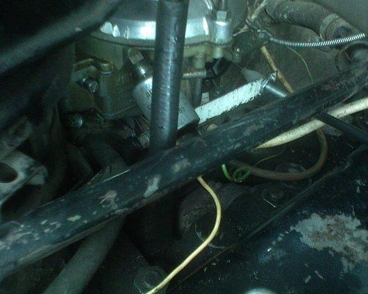 Фото №44 - замена тросика газа на 2110