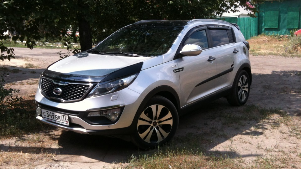 Kia Ceed 3rd Generation >> KIA Sportage R Premium Крепыш | DRIVE2
