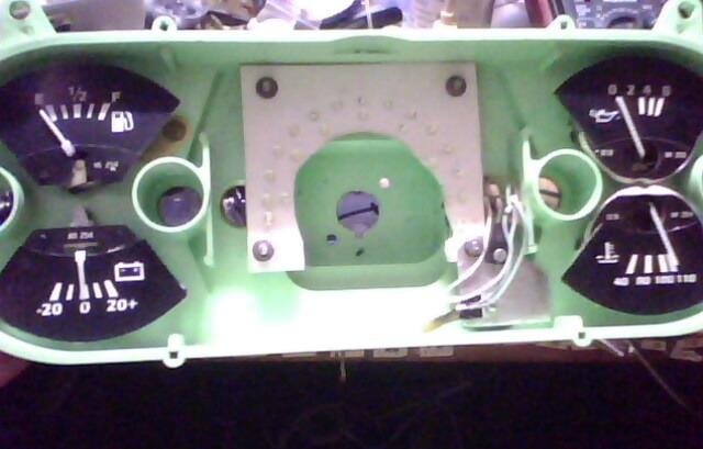 6. извлекается панель приборов