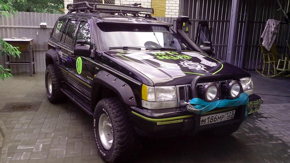 "Jeep Grand Cherokee V8 5.2 ""Черок"" ОllllllО — TitleSuffix"